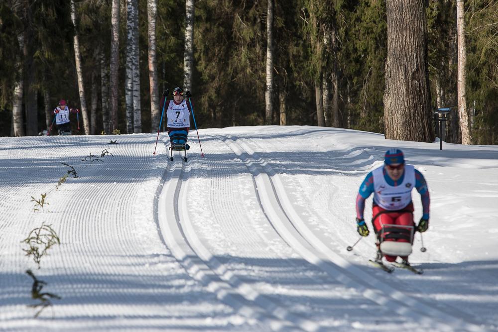 Итоги пятого дня Открытых Всероссийских соревнований по видам спорта, включенным в программу Паралимпийских зимних игр