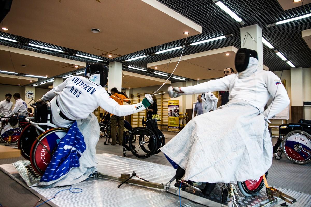 В столице Башкирии проходит Кубок России по фехтованию на колясках