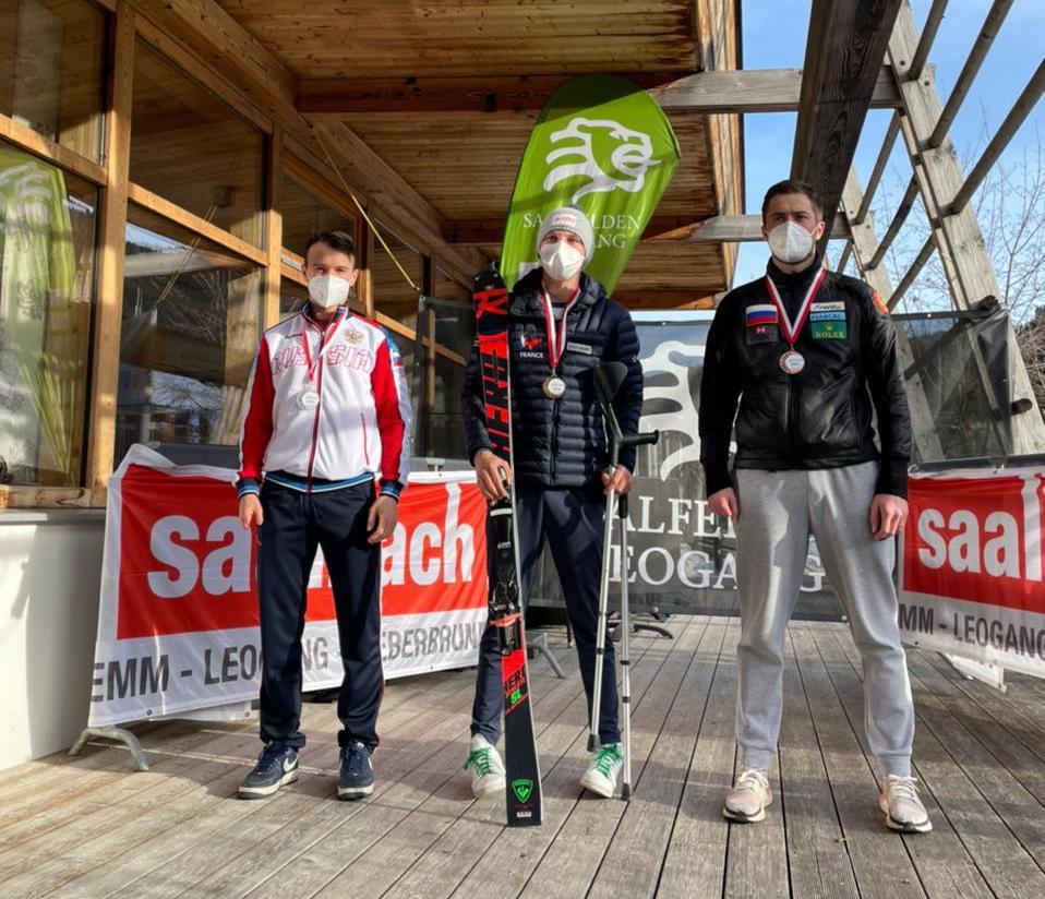 1 золотую, 3 серебряные и 2 бронзовые медали завоевала сборная России на этапе Кубка мира по горнолыжному спорту МПК в Австрии
