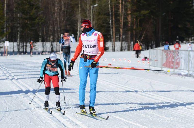 В Кировской области завершились чемпионат и первенство России по лыжным гонкам и биатлону спорта слепых