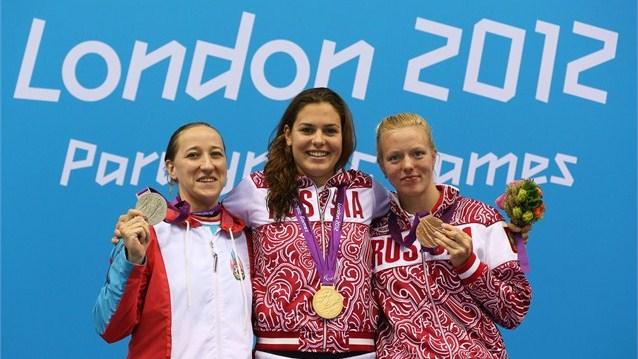 Сборная России сохранила третье место в неофициальном командном зачете после 9-го дня Паралимпийских Игр в Лондоне