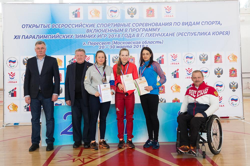 Итоги второго дня Открытых Всероссийских соревнований по видам спорта, включенным в программу Паралимпийских зимних игр