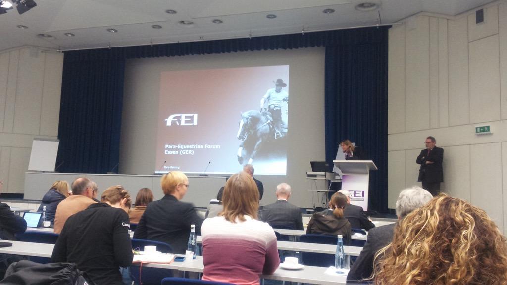 В Германии прошел Первый международный форум по паралимпийскому конному спорту