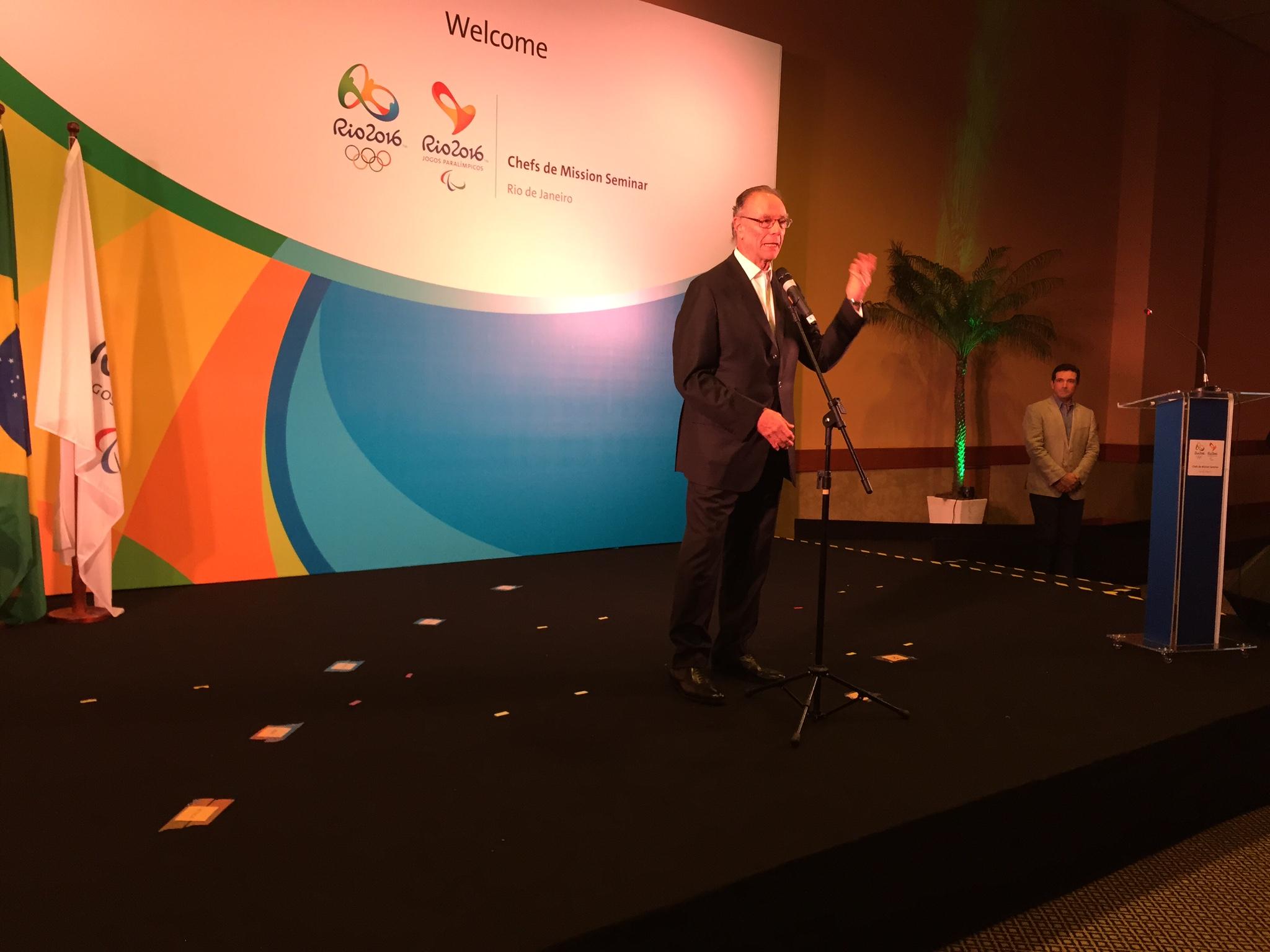 П.А. Рожков в г. Рио-де-Жанейро принял участие в открытии семинара шефов миссий стран-участниц