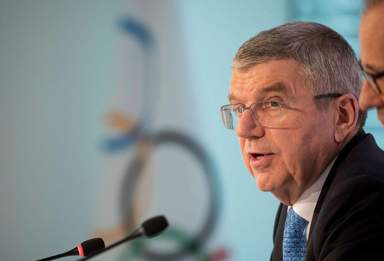 Президент МОК: «Олимпийский огонь может стать светом в конце темного тоннеля»