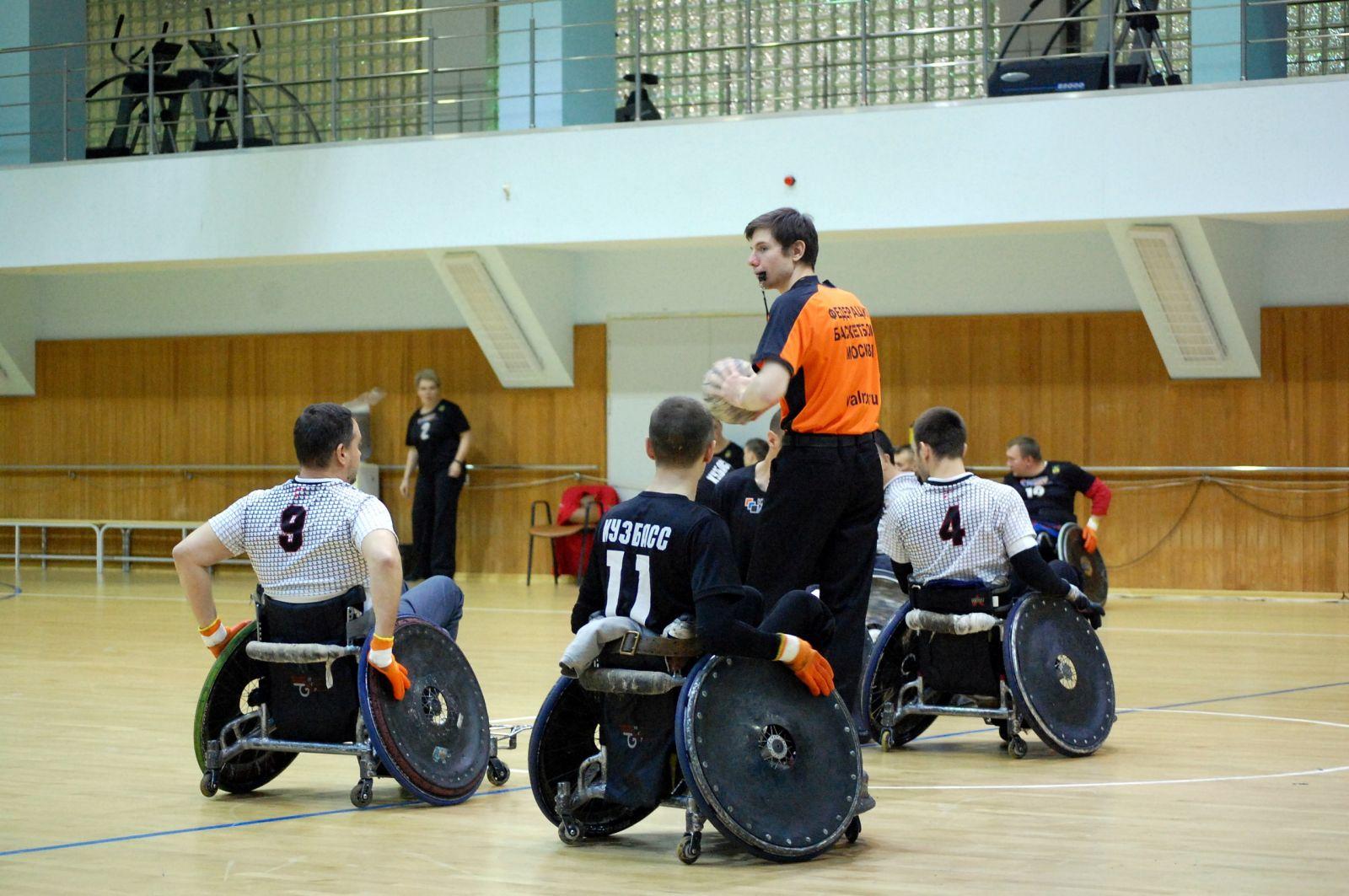 5 команд в Евпатории примут участие в чемпионате России по регби на колясках