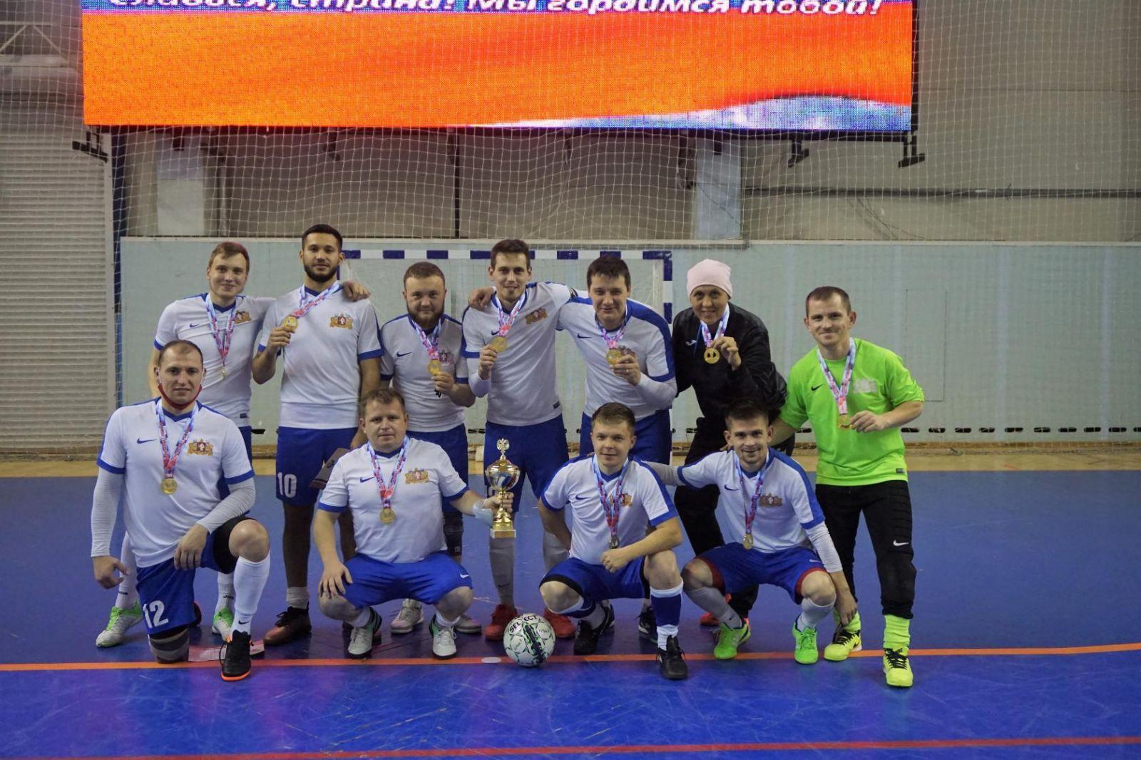 Сборная Свердловской области стала победителем чемпионата России по мини-футболу спорта лиц с ИН