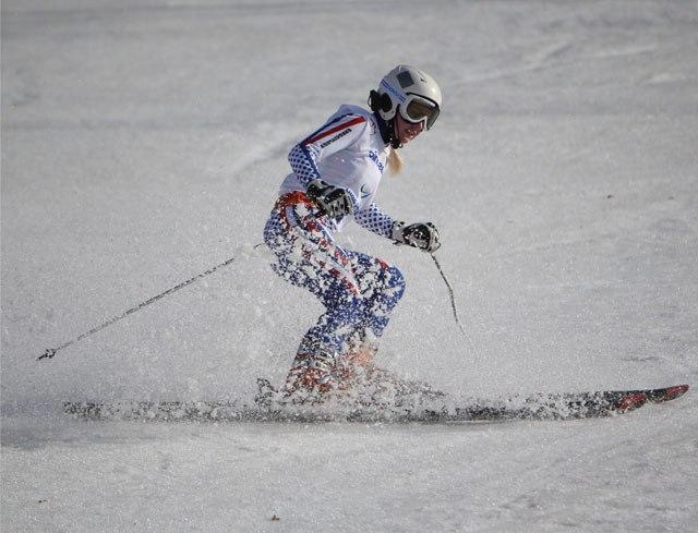 3 золотые медали завоевали российские горнолыжники с поражением опорно-двигательного аппарата и слепых в суперкомбинации в  седьмой соревновательный день Паралимпиады в г. Сочи