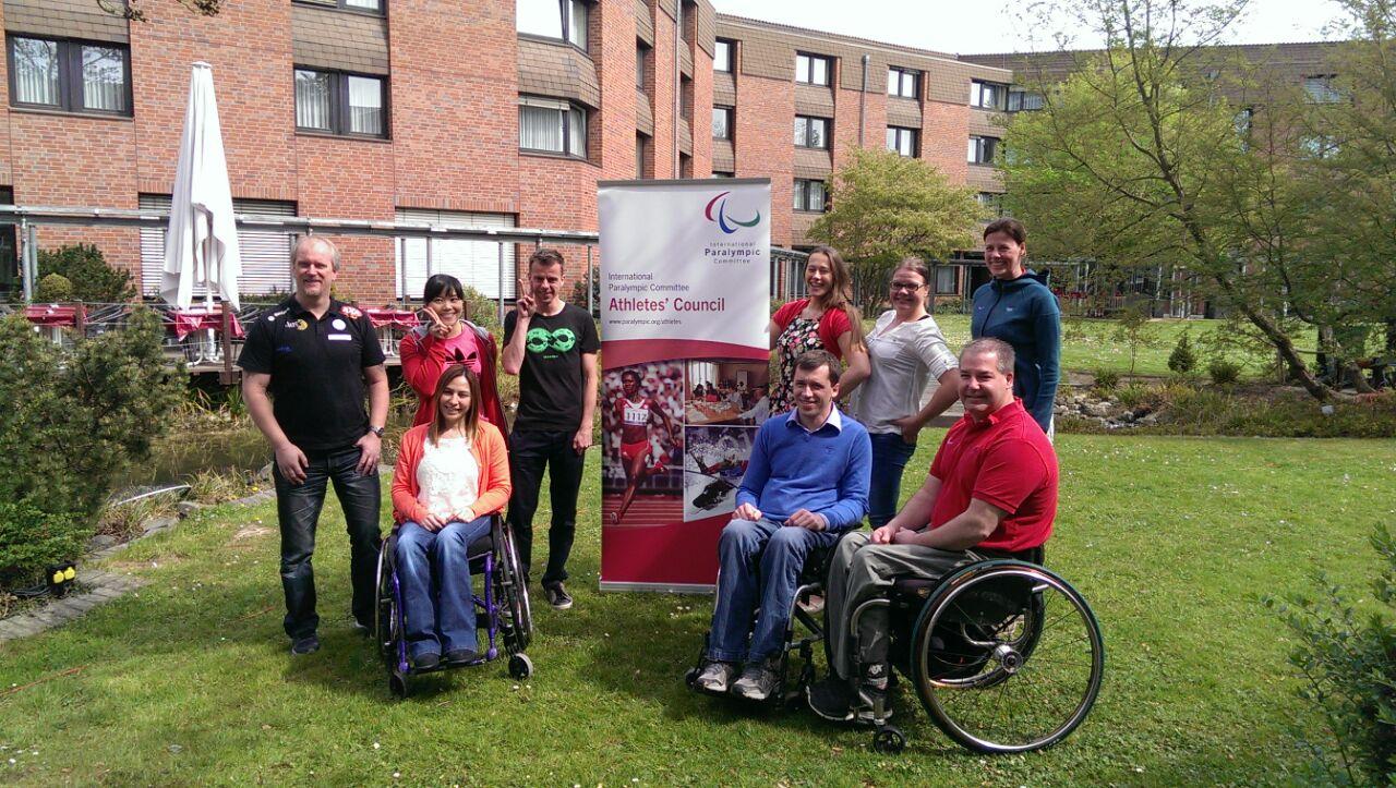 М.Б. Терентьев в г. Бонне принял участие в работе Совета спортсменов Международного паралимпийского комитета
