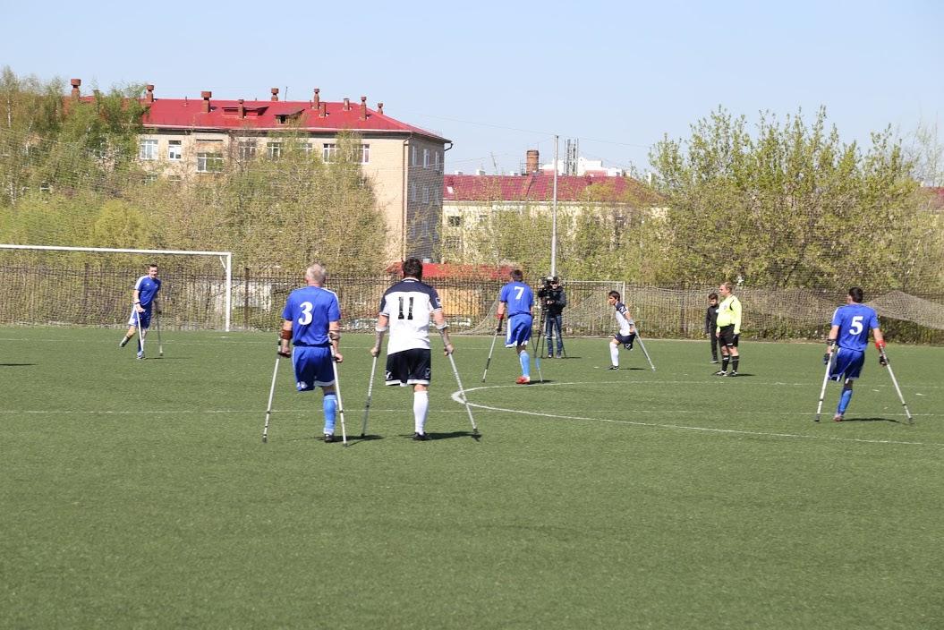 Команда из Алтайского края «Динамо» стала победителем 1 круга чемпионата России по футболу ампутантов